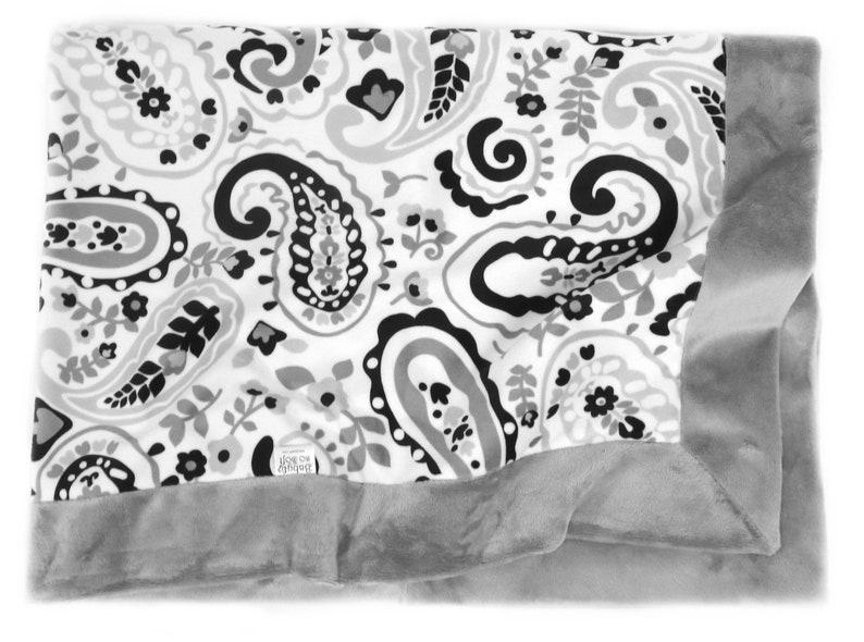 Minky Baby Blanket  Stroller Blanket  Toddler Blanket  Baby image 0