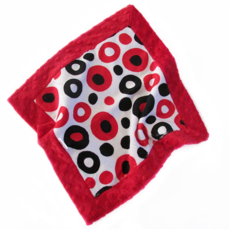 Baby Soother Mini Blanket  Toddler Security Lovey Blanket  image 0