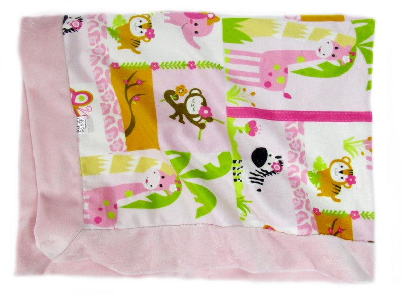 Soft Baby Stroller Blanket  Baby Girl Newborn Gift  Baby image 0