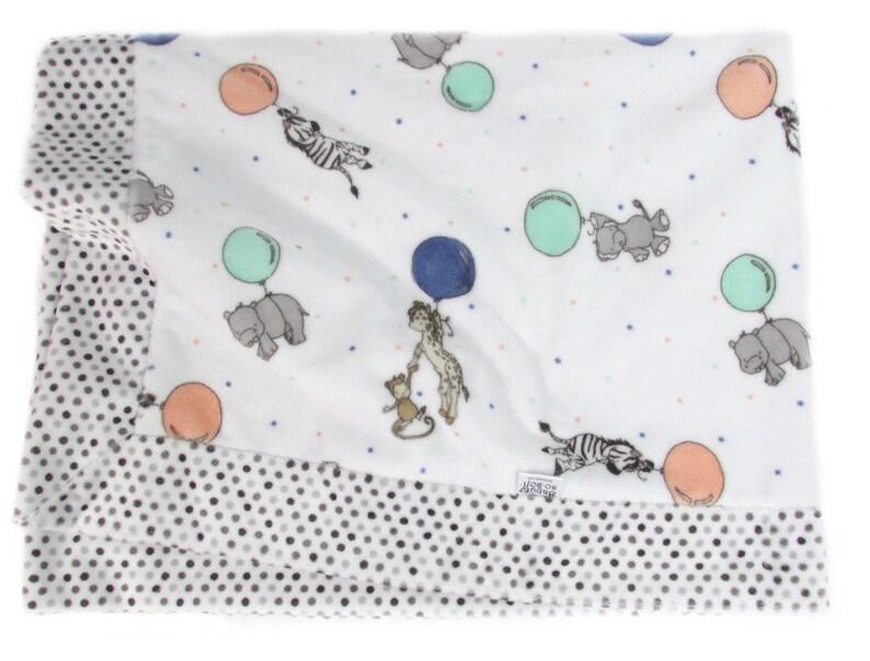 Newborn Baby Gift  Minky Baby Blanket  Toddler Blanket  image 0