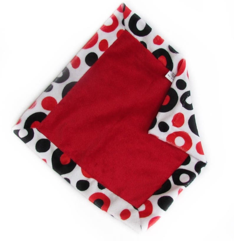 Security Blanket  Baby Lovey  Minky Lovey  Toddler Security image 0