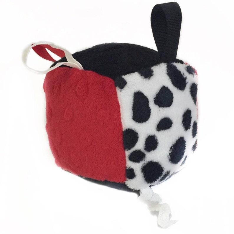 Nursery Toy  Baby Shower Gift  Soft Toy Block  Sensory Toy image 0