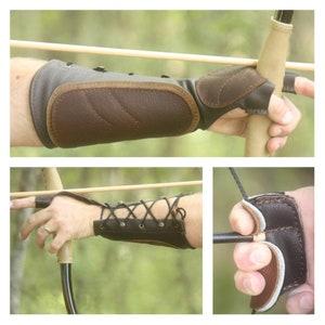 archer wrist guards LAANCOO Archer arm guards 3 buckles for archer hunters forearm protectors