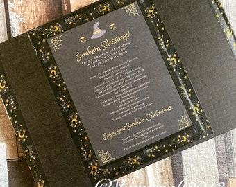 Samhain Sabbat Box, Witch Gift, Altar Decor