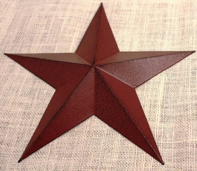 11 Large Metal Tin Barn Star Wall Decor | Etsy