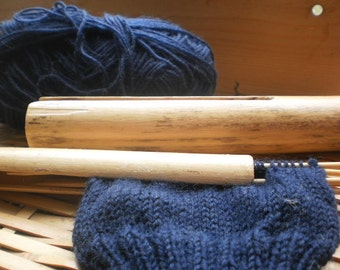 knitting needle case for knitting with 4 needles