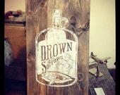 Hand carved linoleum prin...