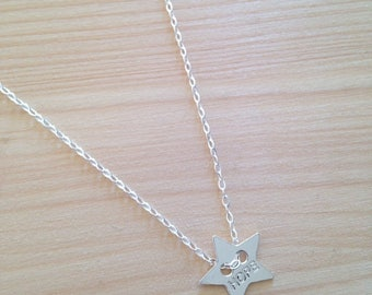 HOPE pendant with 925 sterling silver chain 925 Silver