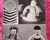 1950s Vintage Knitting Pa...