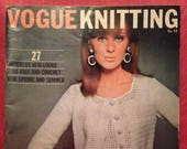 Vintage Vogue Knitting Pa...