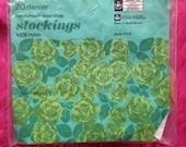 Vintage 1970s Winfield Stockings, Nylons. Lingerie, Hosiery, Underwear.
