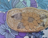 Vintage 1950s Beaded Purse,  Coin Purse,  Evening Bag.  Vintage Accessory.