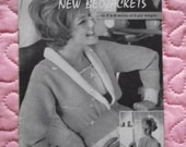 1950s/1960s Vintage Knitting Pattern booklet, 2 patterns. P & B  Wools.