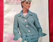 Vintage 1960s Vogue Pattern Book. Fasjikn History, Dress Making, Sewing, Vintage Adverts, Mod Style