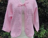 Vintage pale pink soft kn...