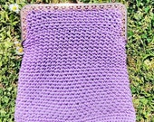 Vintage 1960s, 1970s Purse,  Bag.  Hand Bag,  Evening Bag,  Clutch. Crocheted Bag.  Vintage Accessory.