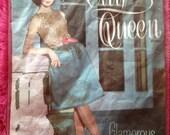 Vintage City Queen Glamorous Nylons.  Seamfree Stockings, Nylons, Hosiery, Lingerie, Underwear, Unworn in Original Pack