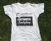 Vintage 1990s Rockabilly Scene Continental Restyling Magazine T-Shirt. Hot Rodder, Fifties Lifestyle.
