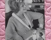 1950s/1960s Vintage Knitting Pattern booklet, 2 patterns. P & B  Wools.