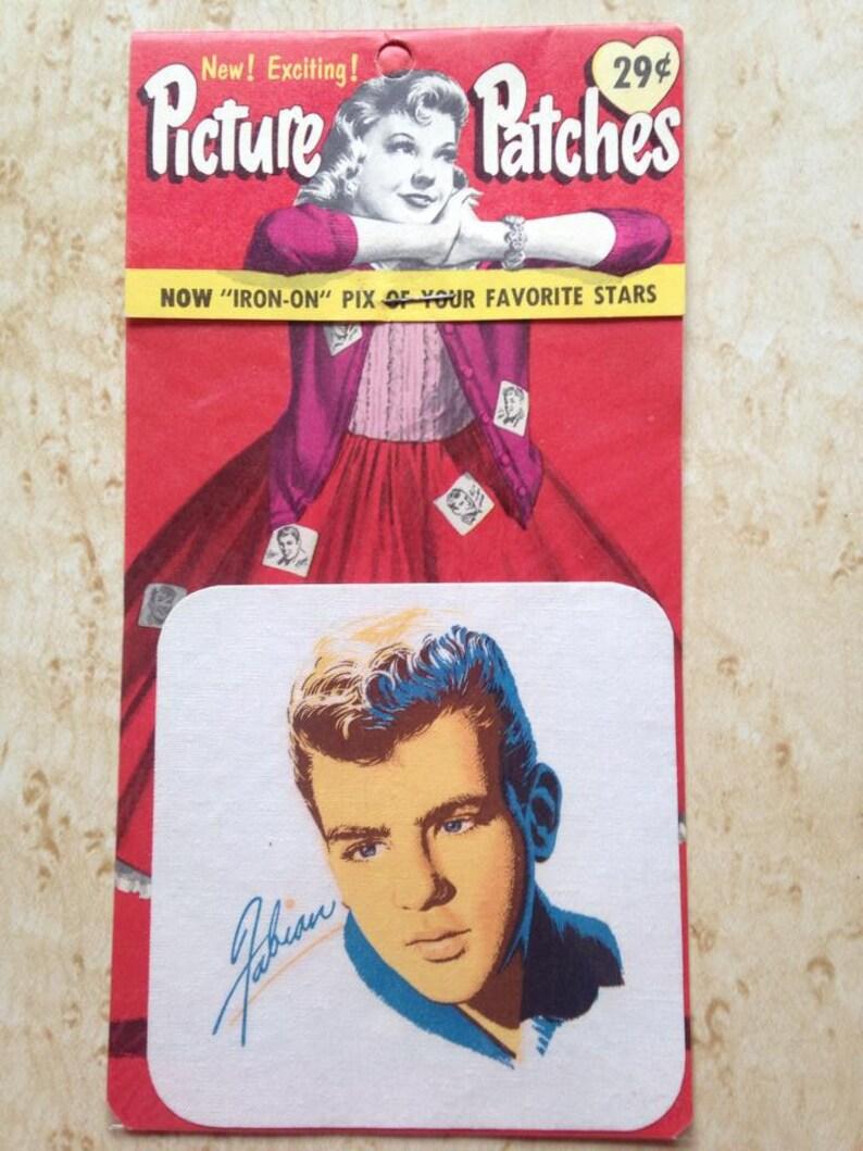 Vintage Mid Century 1950s Deadstock American Fabian iron-on image 0
