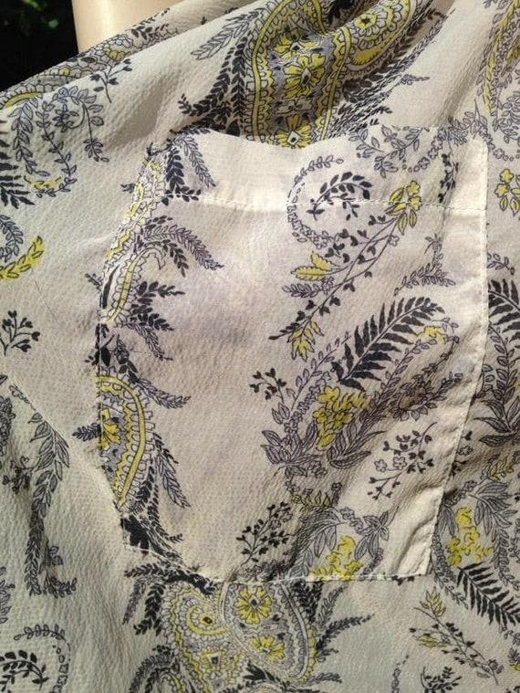 Vintage 1950s Seersucker House Dress, Selfridge's… - image 7
