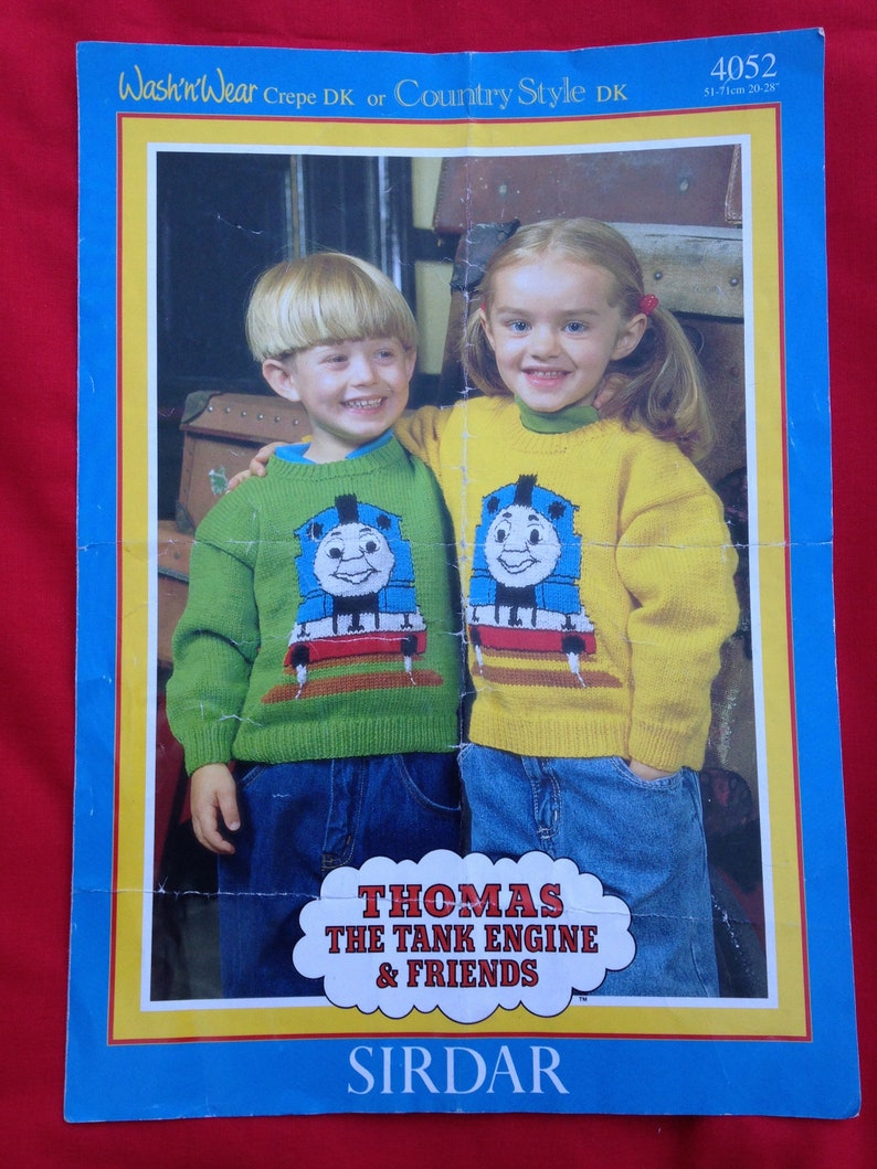 Vintage 1980s 1990s Thomas The Tank Engine and Friends image 0