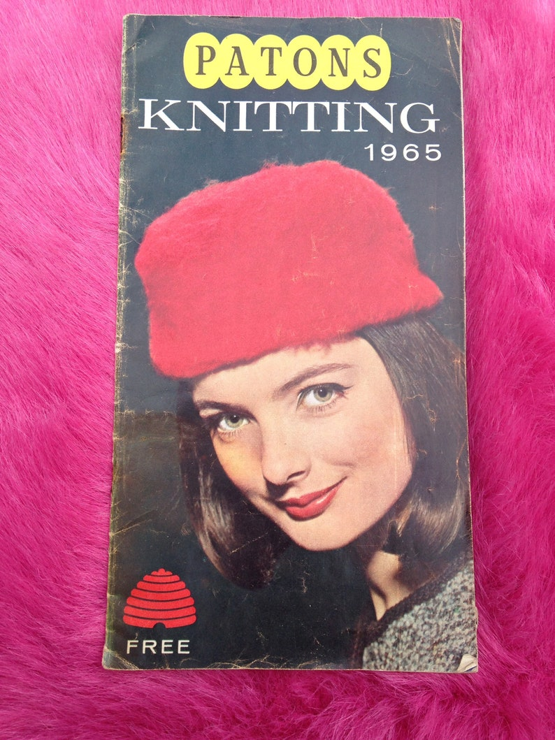 Vintage 1960s Knitting Pattern Booklet for Men Women & image 0