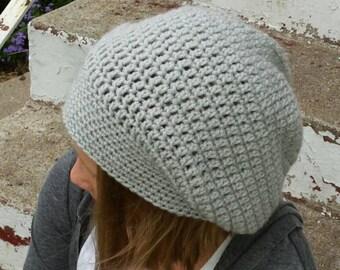 Crochet Basic Slouch hat