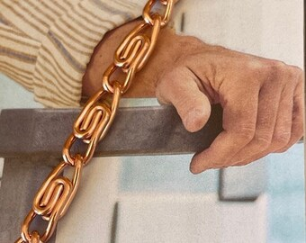 Orders. 38 of an inch wide Ladies Solid Copper Bracelet #CB683G Available in 6 12 to 8 12 inch lengths Free Shipping on All U.S