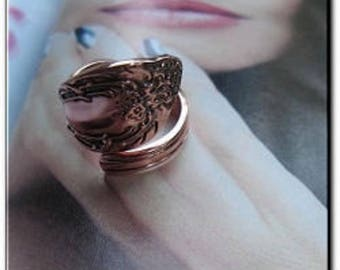 Adjustable Copper Ring 837