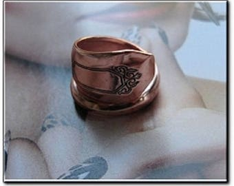 Adjustable Copper Ring 834