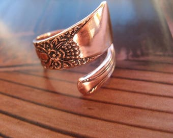 Adjustable Copper Ring 825