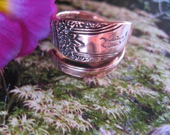 Adjustable Copper Ring 827