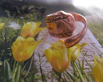 Adjustable Copper Ring 836