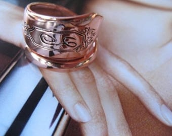 Adjustable Copper Ring 831