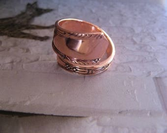 Adjustable Copper Ring 841