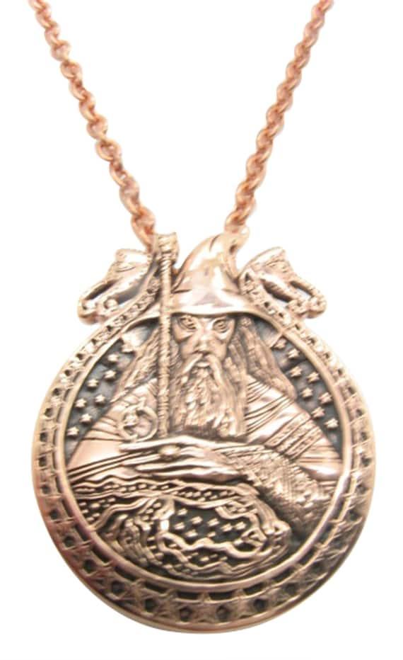Copper Pendant and Chain Set CTP3608