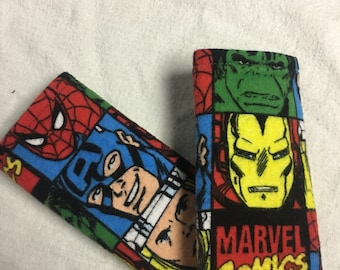 Marvel Infant Car Seat Strap Covers