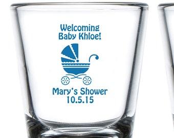 Twins Baby Shower Baby Shower Shot Glasses Baby Shower Glass Monkey Baby Shower 90063 Boy and Girl Baby Shower