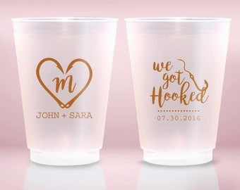 9oz Custom Cup Have and To Hold Frosted Cup Wedding Cups 9oz Frosted 9 oz To Have and To Hold 1745 Wedding Favor Shatterproof Cups