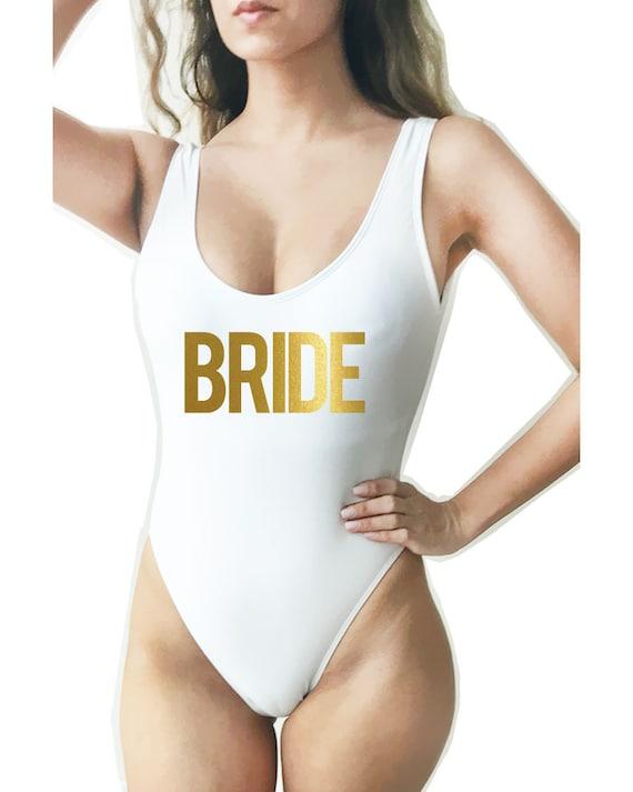 One Piece High Cut Womens Bikini  Monokini  Tiger Print  Swim Wear Swimsuits  Thong Bikini  Bathing Suits The Liann
