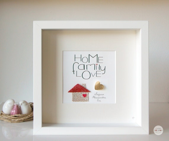 Personalised Gift For Family Mother New Baby Frame Quotes Etsy