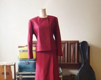 Crimson Lady Suit