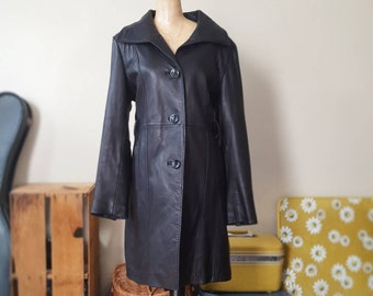 7119d88e62a Thinsulate Faux Leather Duster