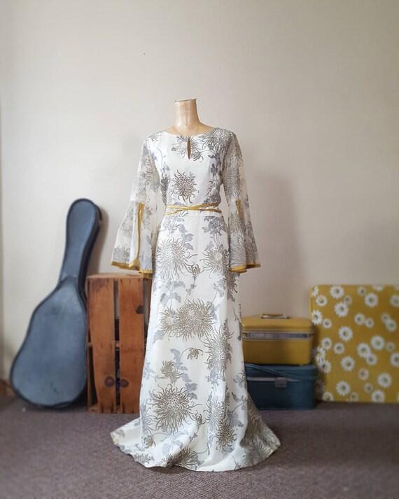 Alfred Shaheen Angel Queen Renaissance Gown