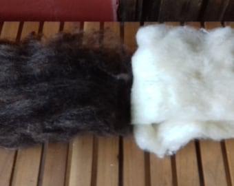 Organic wool from xalda sheeps