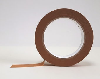 19mm Recyclable Tape // Paper Tape // Eco-Friendly // 19mm x 50 Metre Roll.