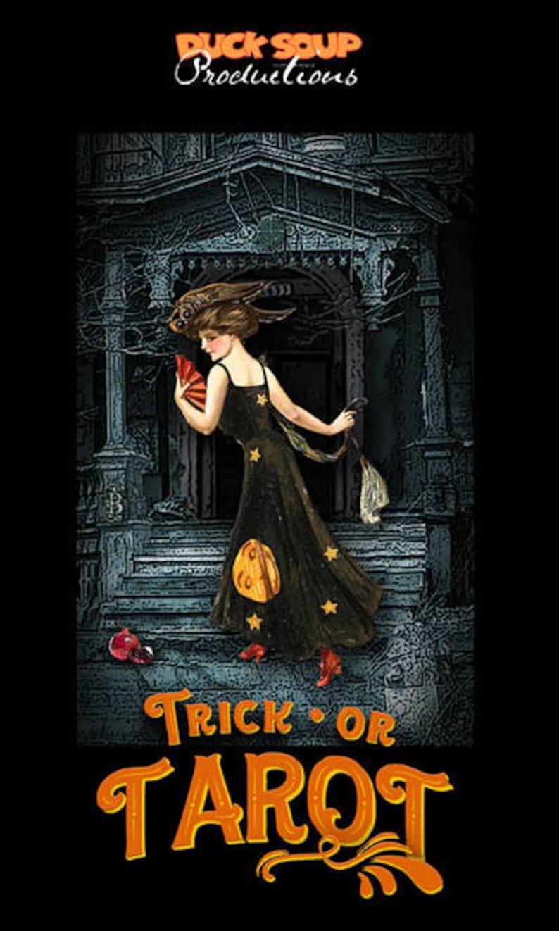 TRICK OR TAROT  Halloween-Themed Tarot Pack image 0