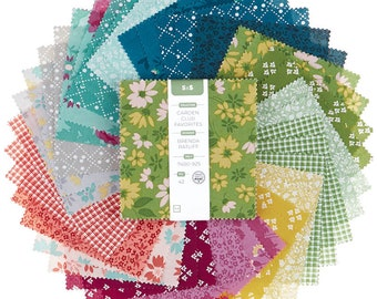 13 Yard Cuts Fabric Club JINNY BEYER RJR Fabrics Everything Quilts #55 Cotton Fabric 6 Pack Bundle Quilter/'s Cotton
