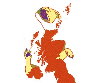 Postcard - British Bulldog
